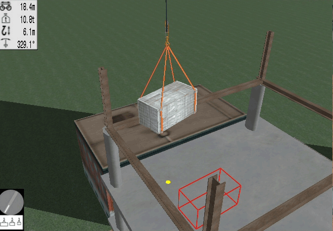 Tower Crane Personal Simulator - Module 3: Executing LIfts