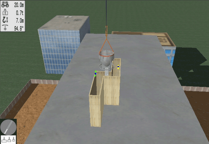 Tower Crane Personal Simulator - Module 6: Form Following