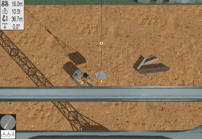 Tower Crane Personal Simulator - Module 1: Load Control 1