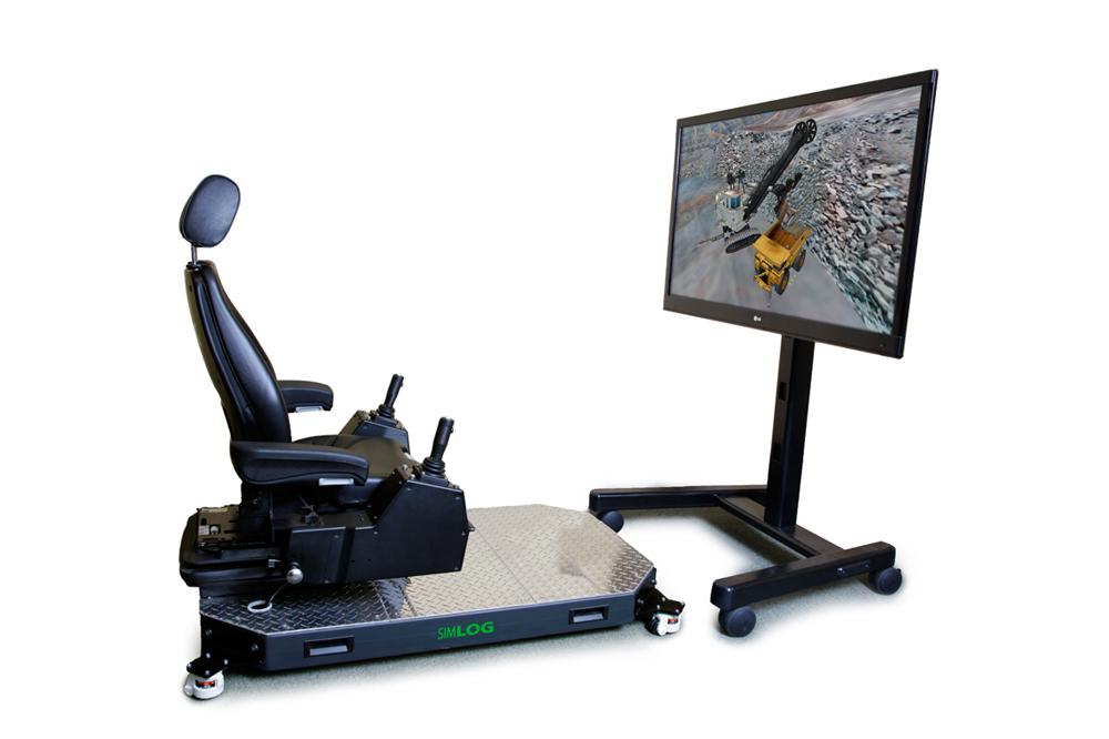 Electric Rope Shovel Personal Simulator - Operator Chair
