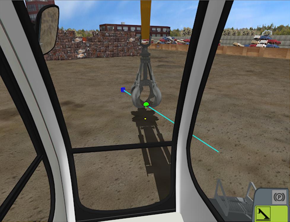 Wheeled Material Handler Personal Simulator - Module 2 - Line Following