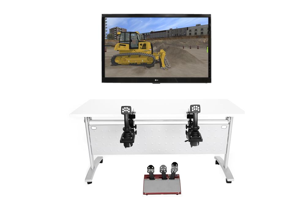 Bulldozer Personal Simulator - Replica Controls